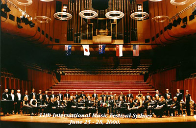 2003 Cal Poly Wind Ensemble Sydney Tour